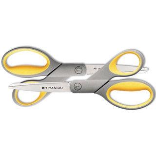 Westcott Titanium Bonded Scissors 8-inch Straight 2/Pack