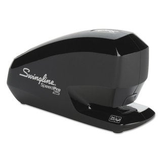Swingline Speed Pro 25 Electric Stapler Full Strip 25-Sheet Capacity Black