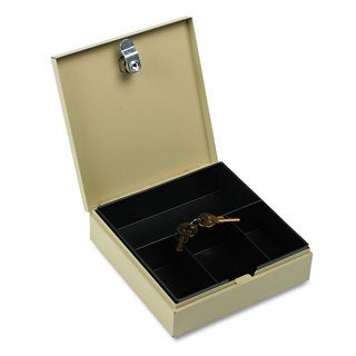 SteelMaster Heavy Duty Steel Drawer Safe Key Lock Sand
