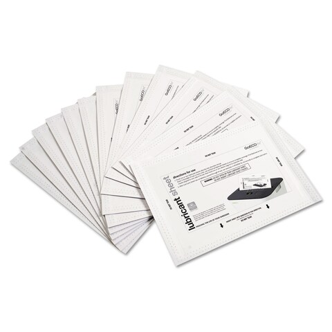 GoECOlife Shredder Lubricant Sheets 8 1/2-inch x 5 1/2-inch 24 per Pack