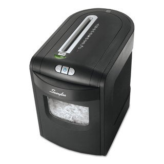 Swingline EX10-06 Cross-Cut Jam Free Shredder 10 sheets 1-2 Users