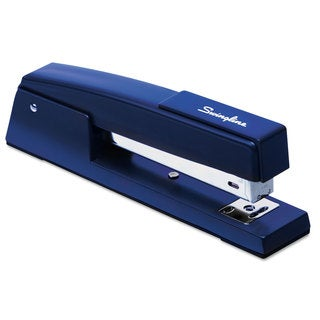 Swingline 747 Classic Full Strip Stapler 20-Sheet Capacity Royal Blue