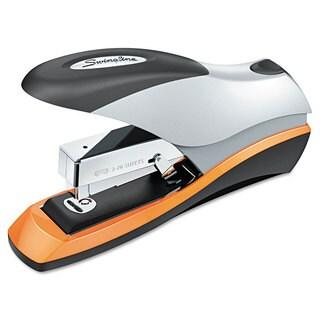 Swingline Optima Desktop Staplers Half Strip 70-Sheet Capacity Silver/Black/Orange