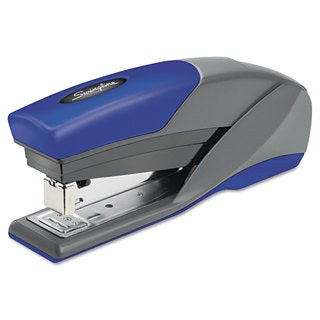 Swingline Light Touch Reduced Effort Full Strip Stapler 20-Sheet Capacity Blue