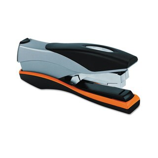 Swingline Optima Desktop Staplers Full Strip 40-Sheet Capacity Silver/Black/Orange