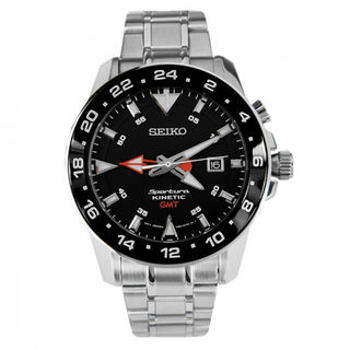 Seiko Sportura SUN015P1 Men's Black Dial Watch