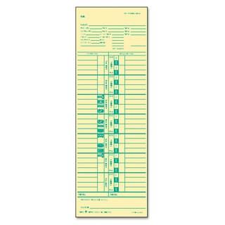 TOPS Time Card for Cincinnati/Simplex Weekly 3 1/2 x 10 1/2 500/Box