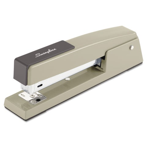 Swingline 747 Classic Full Strip Stapler 20-Sheet Capacity Steel Grey