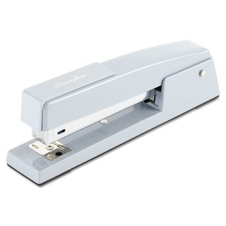 Swingline 747 Classic Full Strip Stapler 20-Sheet Capacity Sky Blue
