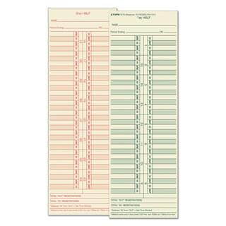 TOPS Time Card for Cincinnati/Lathem/Simplex/Acroprint Semi-Monthly 500/Box
