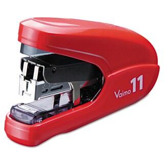 Max Flat Clinch Light Effort Stapler 35-Sheet Capacity Red
