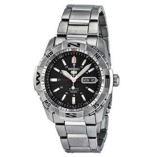 Seiko Sports SNZJ05K1 Men's Black Dial Watch