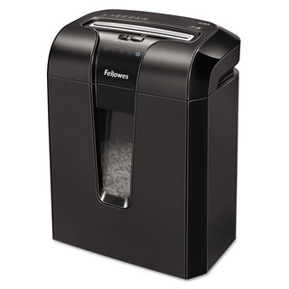 Fellowes Powershred 63Cb Light-Duty Cross-Cut Shredder 10 Sheet Capacity