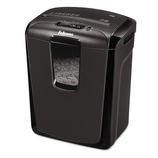 Fellowes Powershred 49C Light-Duty Cross-Cut Shredder 8 Sheet Capacity