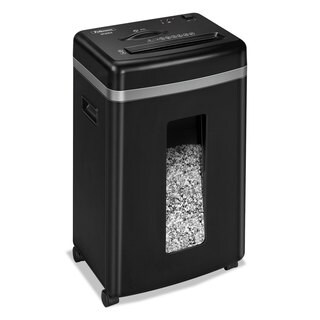 Fellowes Powershred 450M Medium-Duty Micro-Cut Shredder 9 Sheet Capacity