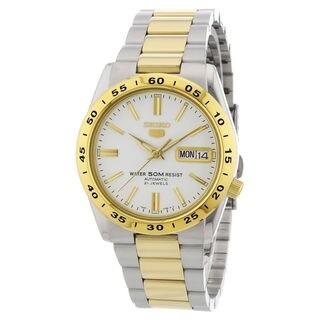 Seiko Sports SNKE04K1 Men's White Dial Watch