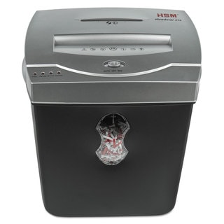 HSM of America shredstar X10 Cross-Cut Shredder Shreds up to 10 Sheets 5.5-Gallon Capacity