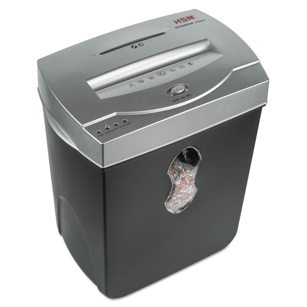 HSM of America shredstar X6pro Micro-Cut Shredder Shreds up to 6 Sheets 5.5-Gallon Capacity