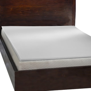 Comfort Dreams 1-inch Antimicrobial Memory Foam Cal-King Size Mattress Topper (As Is Item)