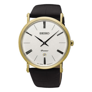 Seiko Premier SXB432P1 Women's White Dial Watch