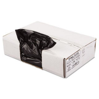 Penny Lane Linear Low Density Can Liners 43 x 47 Black 10 Bags/Roll 10 Rolls/Carton