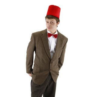 Elope 11th Doctor Red Fez and Bowtie Accessory Set