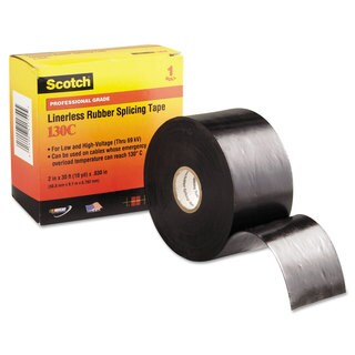 3M Scotch 130C Linerless Splicing Tape 2 inches x 30ft