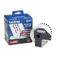Brother Continuous Paper Label Tape 2.4-inch x 100ft Roll White