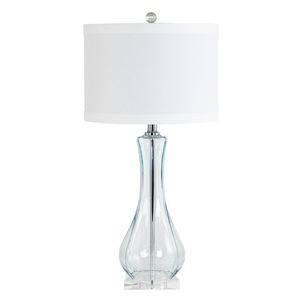 Lissie Blue Glass Table Lamp