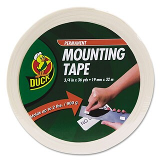 Duck Permanent Foam Mounting Tape 3/4 inches x 36yds