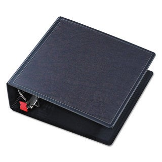 Cardinal SuperLife Easy Open Locking Slant-D Ring Binder 4-inch Capacity 11 x 8 1/2 Black