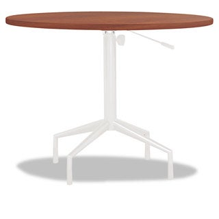 Safco RSVP Series Round Table Top Laminate 36 inches Diameter Cherry