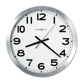 Howard Miller Spokane Classic, Modern, Transitional Statement Wall Clock with Large Numbers, Reloj De Pared