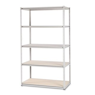 Tennsco Stur-D-Stor Shelving Five-Shelf 48-inch wide x 24-inch deep x 84h Sand