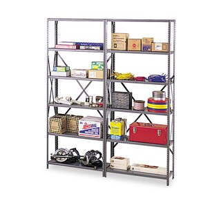 Tennsco Industrial Post Kit for 36 inches and 48 inches Wide Shelves Medium Grey