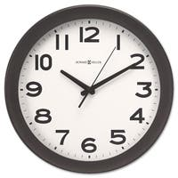 Howard Miller Kenwick Wall Clock 13-1/2 inches Black - 13.5 x 1.75 x 13.5