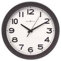 Howard Miller Kenwick Wall Clock 13-1/2 inches Black