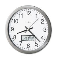 Howard Miller Chronical 14 Inch Classic, Modern, Transitional Wall Clock with Date and Week Day, Reloj De Pared