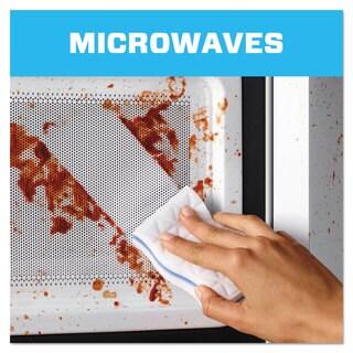 Mr. Clean Magic Eraser Kitchen Scrubber 3 9/10-inch x 2 2/5-inch 2/Box 12 Boxes/Carton