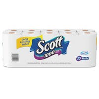 Scott Standard Roll 1-ply 10-piece Bathroom Tissue (Pack of 2)
