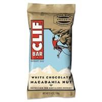 CLIF Bar Energy Bar White Chocolate Macadamia Nut 2.4-ounce 12/Box