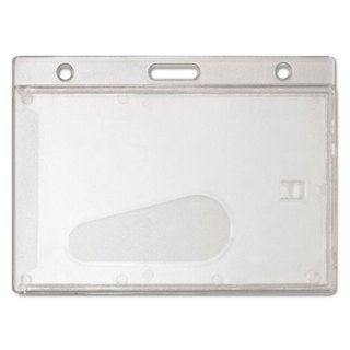 Link to Advantus Frosted Rigid Badge Holder Clear Horizontal 25/Box Similar Items in Badges, Names & Signs