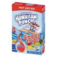Hawaiian Punch Drink Mix Singles Fruit Juicy Red 0.75-ounce Stick 96 sticks