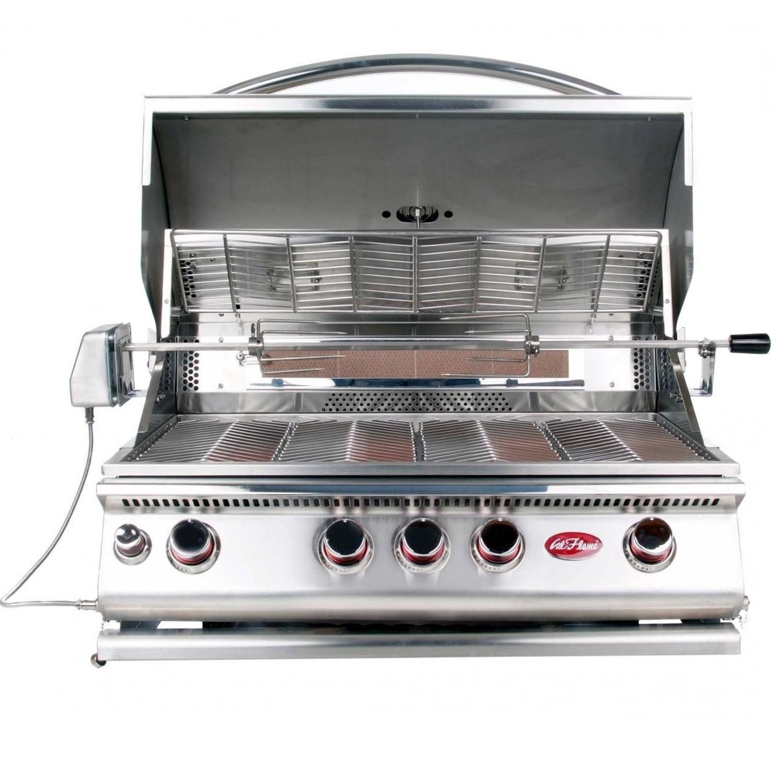 Cal Flame Built In 4 Burner Convection Grill Propane W/ N...