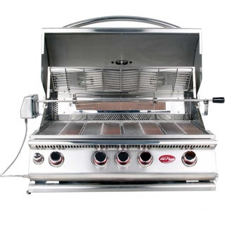 Cal Flame Built In 4 Burner Convection Grill Propane W/ Natural Gas Conversion Kit