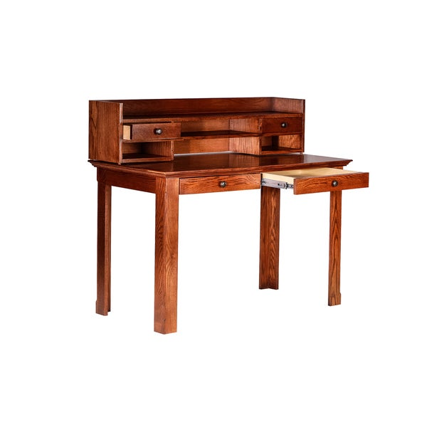 forest designs traditional writing desk with drawers and hutch - Designer Writing Desk
