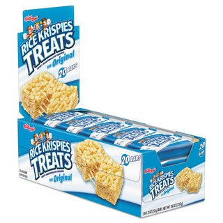 Kellogg's Rice Krispies Treats Original Marshmallow 1.3-ounce Snack Pack 20/Box