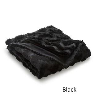 Vellux Chevron Faux Fur Throw