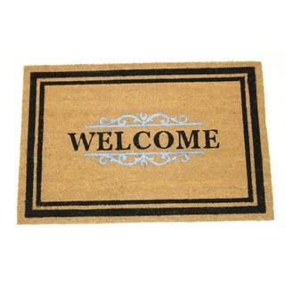 Gated Welcome Coir 30-inch x 48-inch Doormat