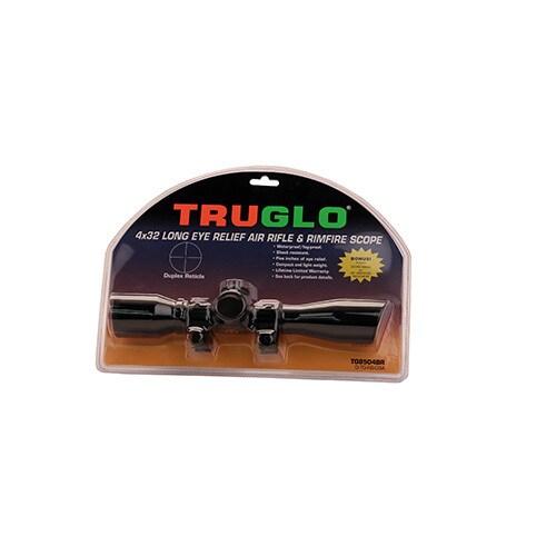 Truglo Black Aluminum Scope Rings